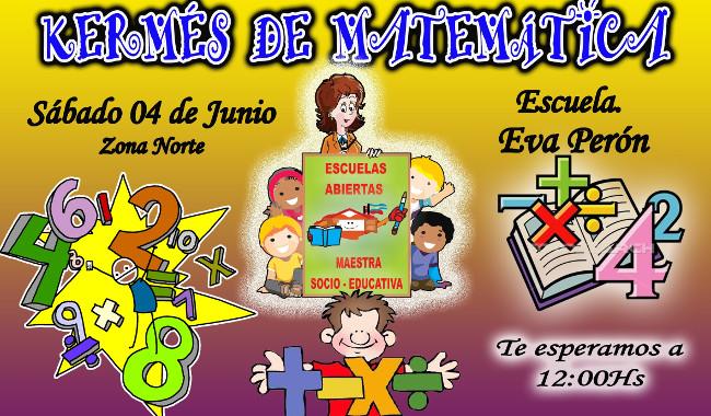 Kermes De Juegos Matematicos Para Los Ninos De Escuelas Abiertas Y