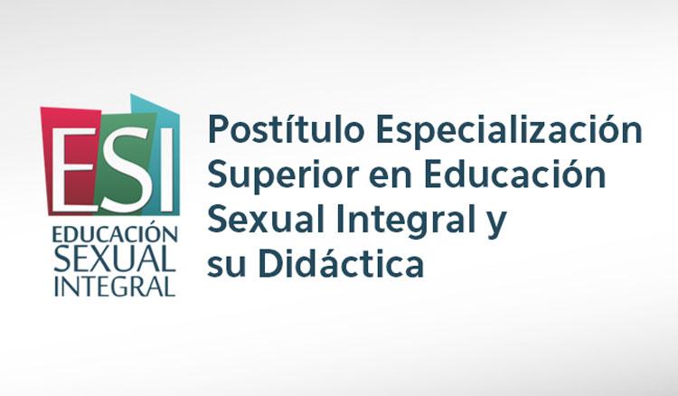 Se encuentra abierta la inscripción para el Postítulo Especialización Superior en Educación Sexual y su Didáctica