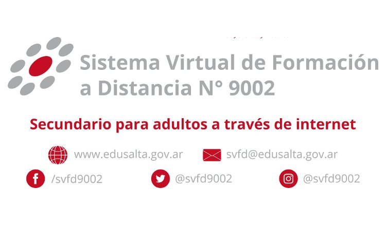 Normal Funcionamiento del Sistema Virtual de Formación a Distancia N° 9002