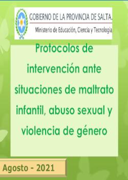 Protocolos de prevención e intervención en situaciones de violencia MAYO 2021