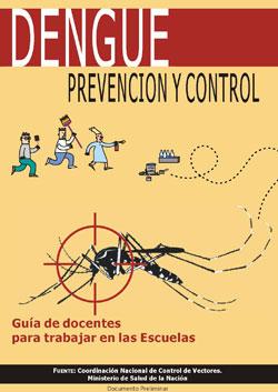 Dengue prevención y control - Guía de docentes para trabajar en las escuelas
