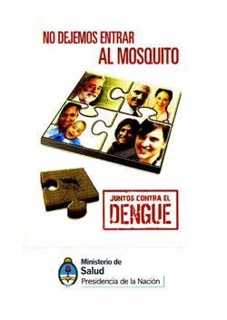 Folleto - No dejemos entrar al mosquito