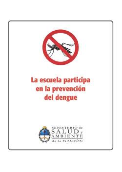 La escuela participa en la prevención del dengue